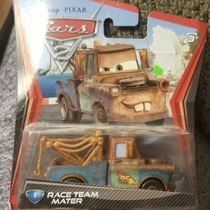 Nwt Disneys pixar cars race team mater